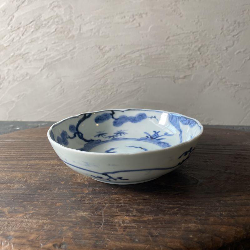 画像1: 伊万里焼 古伊万里 松竹梅 膾皿 (1)